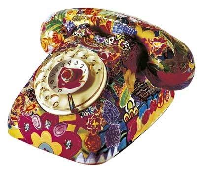 decoupage telefono