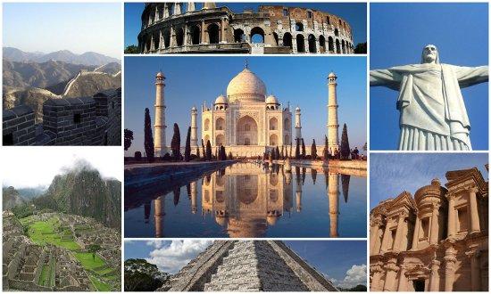 sette meraviglie mondo moderno