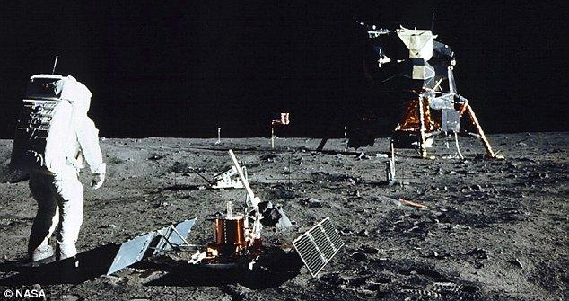 diagram of the apollo moon landings s surface - photo #34
