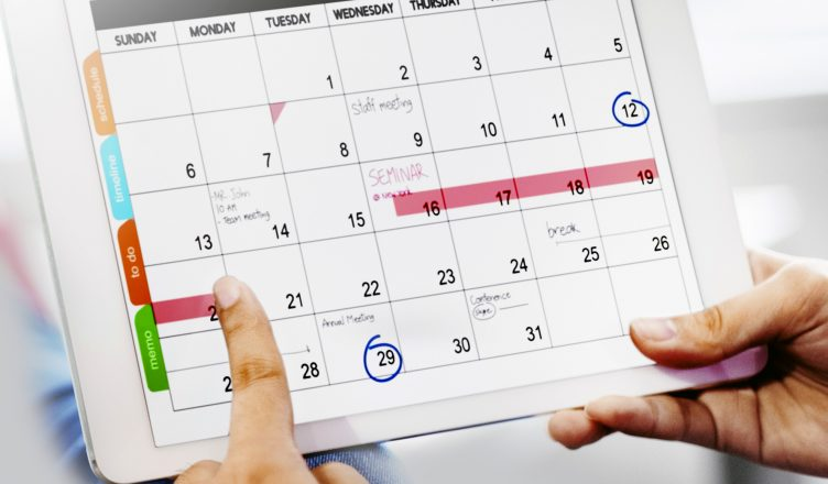 pianificazione lavoro settimanale