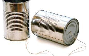 telefono barattolo