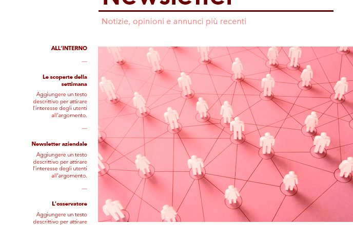 Newsletter aziendale